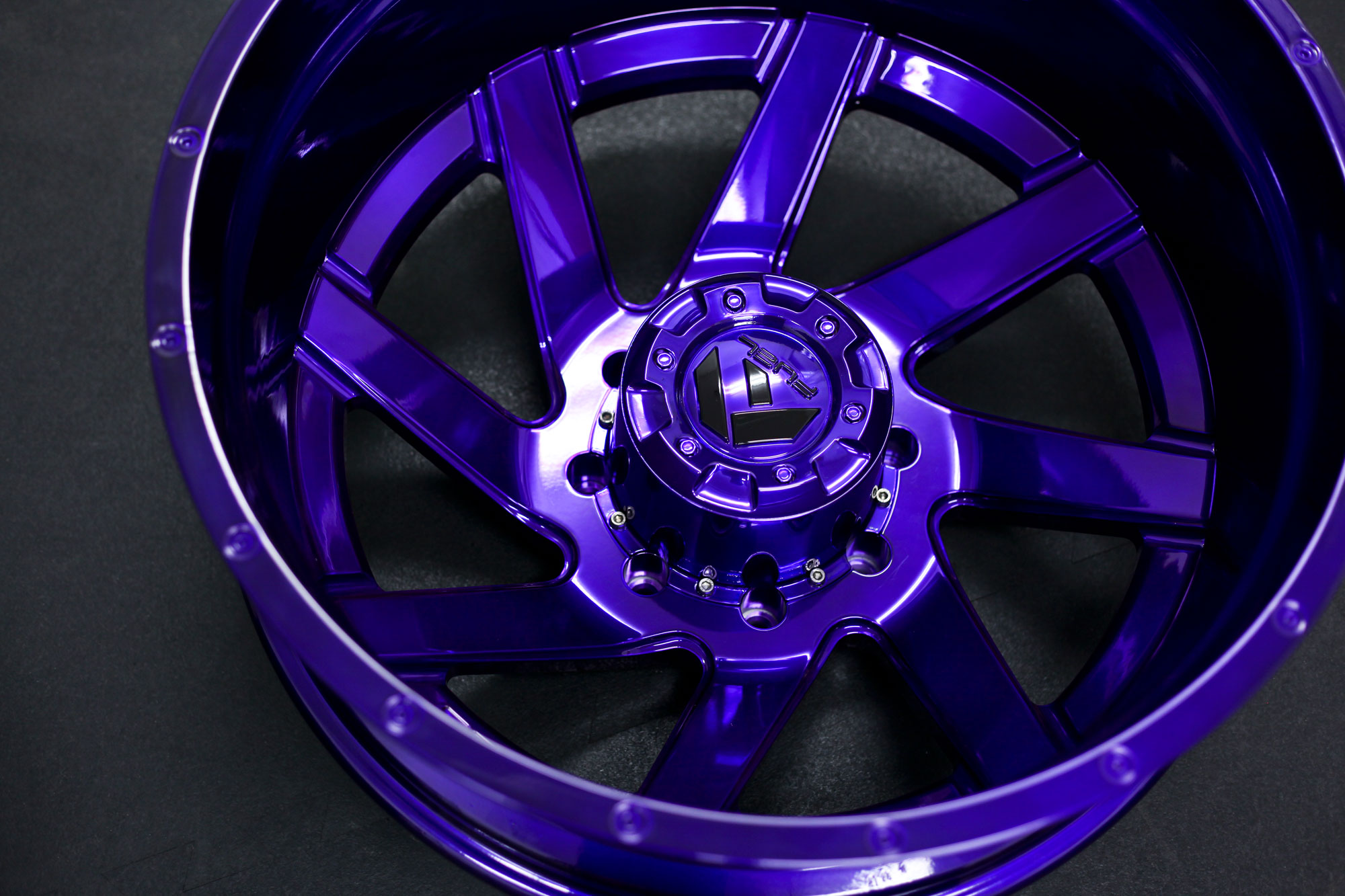 Nissan Truck Fuel Renegade D265 | Candy Purple - Fuel Off-Road Wheels