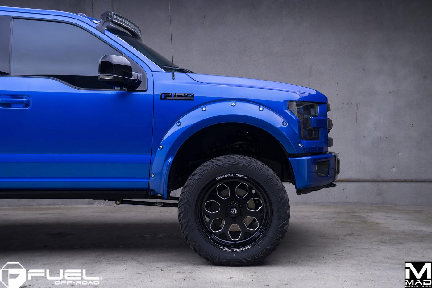 Mad Ind F150 Build Fuel Off Road Wheels