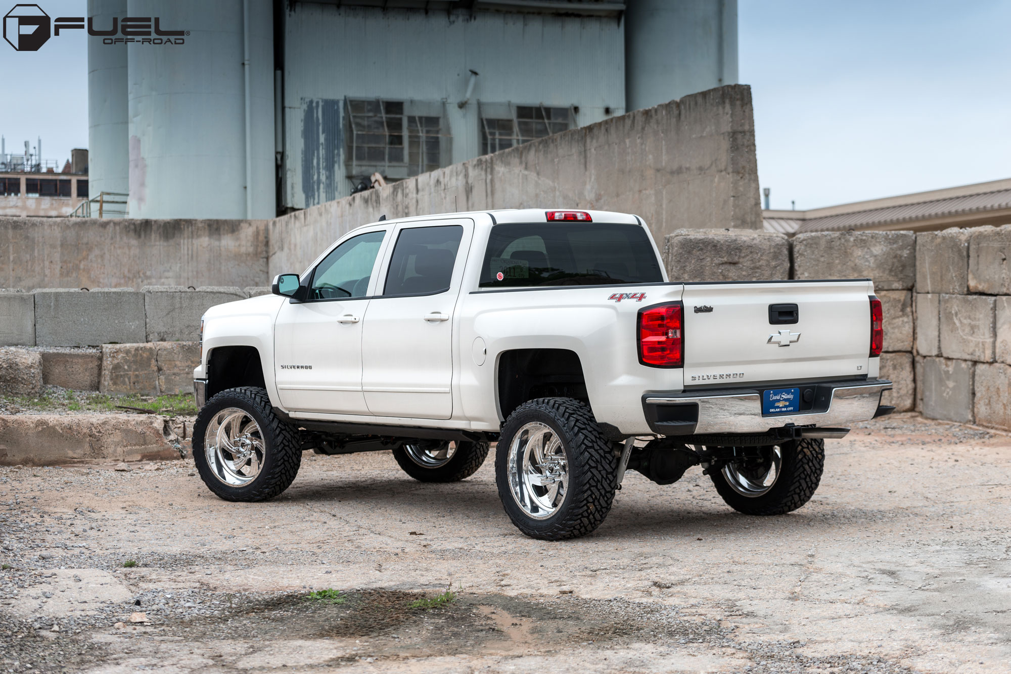 Fuel Forged Ff10 2015 Silverado Fuel Off Road Wheels