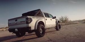 Ford Raptor on New Fuel Trophy Wheels