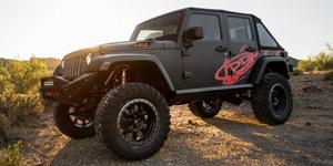 2013 Jeep JK on 20x9 Fuel Trophy's