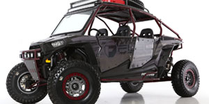 Polaris RZR1000 4 Door | Fuel Anza D918 Beadlock