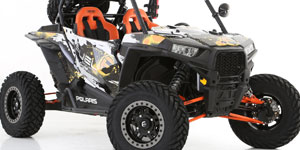 Polaris RZR1000 4 | Fuel Anza D917 Beadlock | Gripper UTV 30x10R15