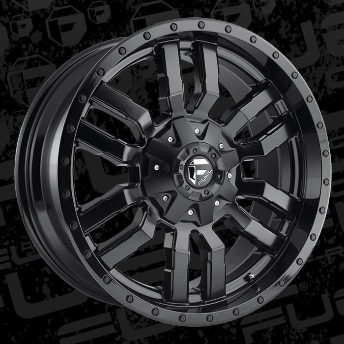 Fuel Wheels 20x9 >> Fuel 1 Piece Wheels Sledge D596 Wheels Sledge D596