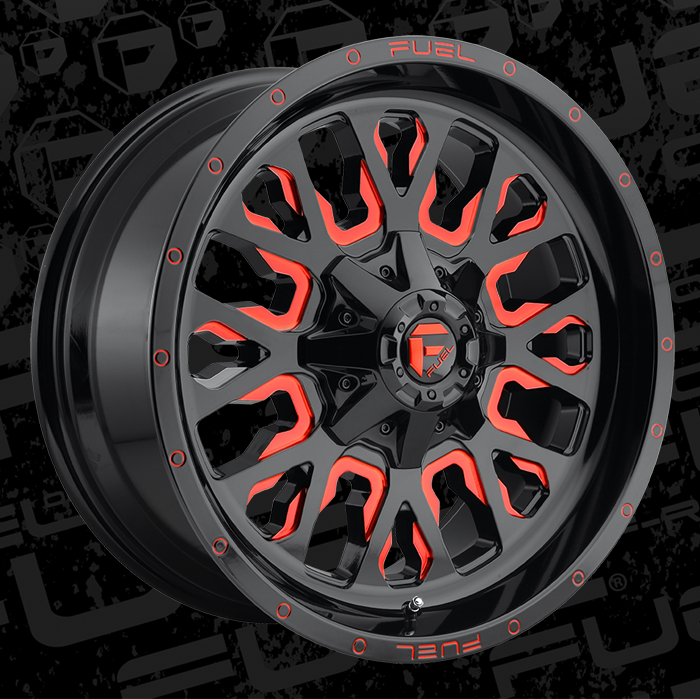 Fuel Wheels 20x9 >> Fuel 1 Piece Wheels Stroke D612 Wheels Stroke D612 Rims On Sale