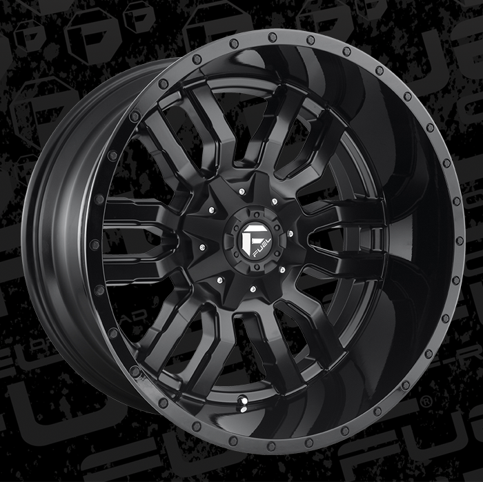 Fuel Wheels 20x9 >> 2019 Collection Sledge - D596 - Fuel Off-Road Wheels