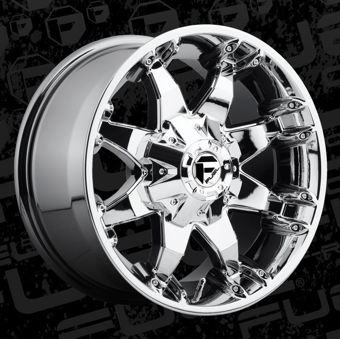 Fuel 1 Piece Wheels Octane