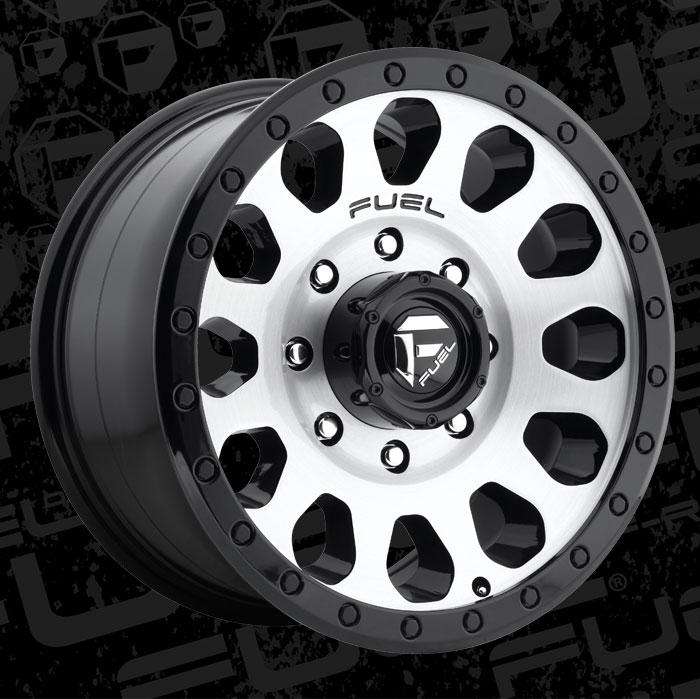 Fuel Dually Wheels >> Vector - D580 - Fuel Off-Road Wheels