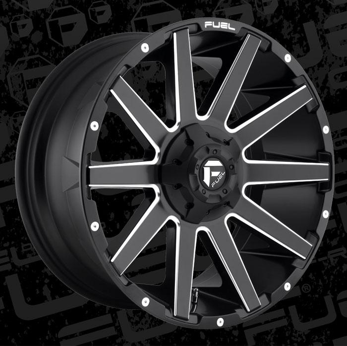 Fuel Wheels 20x9 >> 2019 Collection Contra - D616 - Fuel Off-Road Wheels