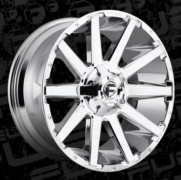 2019 Collection Contra - D614 - Fuel Off-Road Wheels