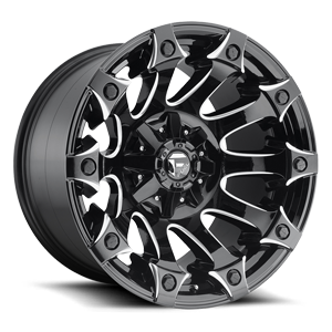 Battle Axe - D578 Gloss Black & Milled