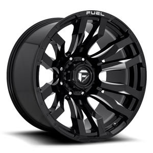 Blitz - D673 22x12 ET-44 | Gloss Black & Milled