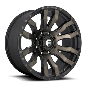 Blitz - D674 22x10 ET-18 | Matte Black/Machined/DDT