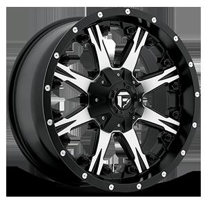 Nutz - D541 Black & Machined