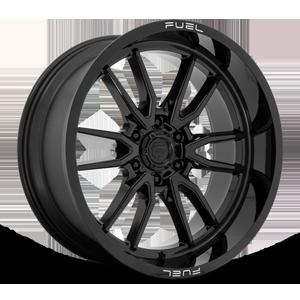 Clash 6 - D760 Gloss Black 22x10