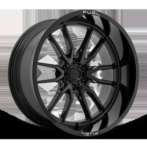Clash 6 - D760 Gloss Black 24x12