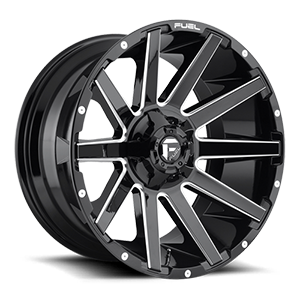 Contra - D615 Gloss Black & Milled