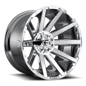 Contra - D614 22x12 | Chrome