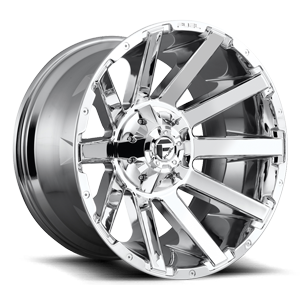 Contra - D614 22x12 -44 | 8 Lug | Chrome