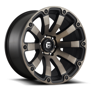 Diesel - D636 20x10 -18 | Matte Black/Machined/DDT