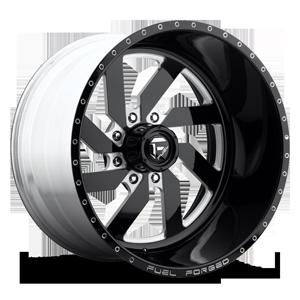 FF03 - 8 Lug Black & Milled