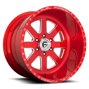 FF09 Brushed Lollipop Red & Milled