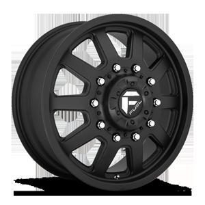 FF09D - 10 Lug Front Matte Black