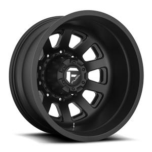 FF09D - 10 Lug Rear Matte Black