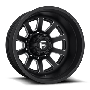FF09D - Rear Matte Black & Milled