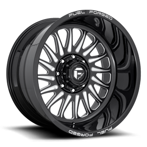 FF103 Gloss Black & Milled
