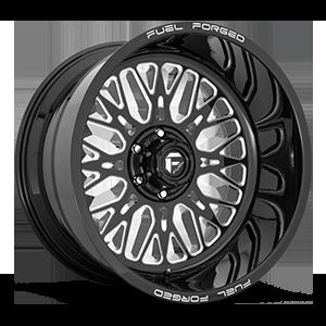 FF104 Gloss Black Milled