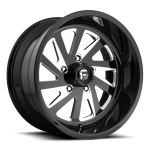 FF16 Black & Milled | 5 Lug
