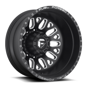 FF19D - Rear Matte Black & Milled