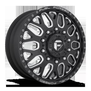 FF19D - Front Matte Black & Milled