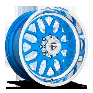 FF19 Candy Blue w/ Polished Lip