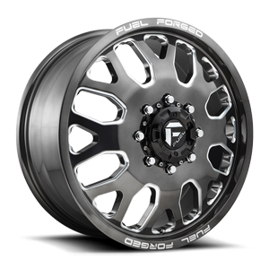 FF19D - Front Candy Black and Milled