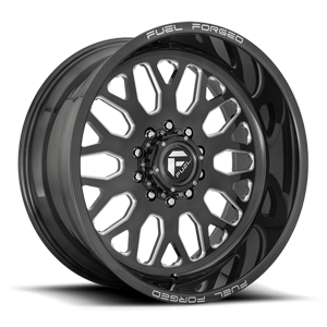 FF19D - Super Single Front 22x10 | Candy Black Milled