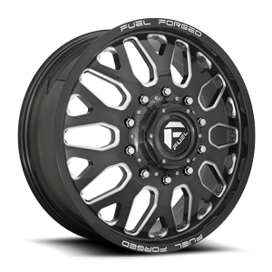 FF19D - Front Candy Black & Milled