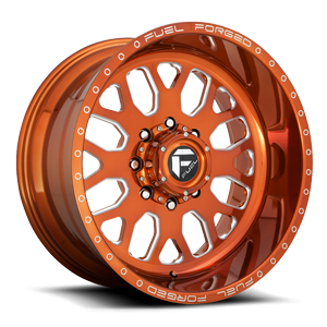 FF19D - Super Single Front Trans Copper & Milled