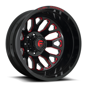 FF19D - Rear Gloss Black w/ Candy Red
