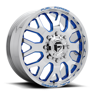 FF19D - Front Polished w/ Trans Blue