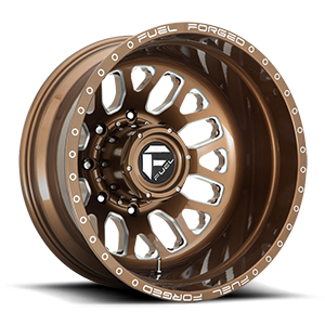 FF19D - Rear Gloss Bronze Milled