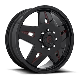 FF21D - Front Gloss Black w/ Cherry Red