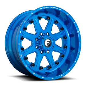 FF25 Translucent Candy Blue & Milled
