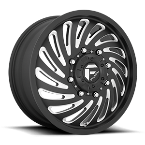 FF28D - Front Matte Black & Milled