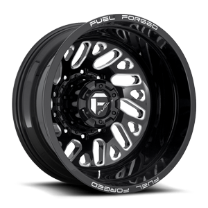 FF29D - Rear Gloss Black & Milled