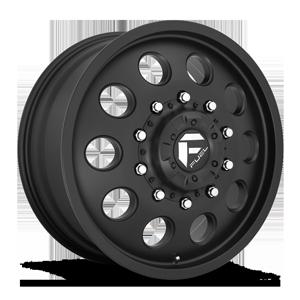 FF31D - 10 Lug Front Matte Black