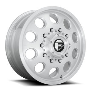 FF31D - 10 Lug Front Brushed Gloss Clear