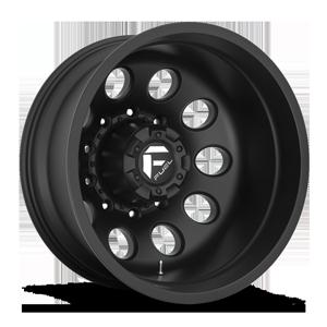 FF31D - 10 Lug Rear Matte Black