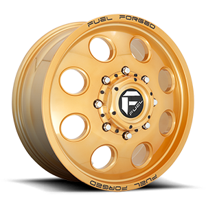 FF31D - 8 Lug Front Candy Gold